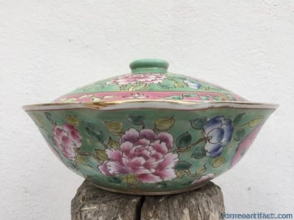 nyonya nonya soup bowl chinese wedding ware / food serving jar