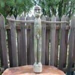 LARGEPENISFERTILITYmmSTATUEDayakTribalFigureSexSculptureArtBorneo