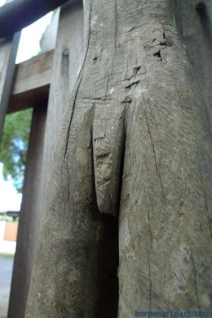 MALEPATUNGPOLISImmXXXLSTATUEPoliceDayakTribalFigureWoodSculpture
