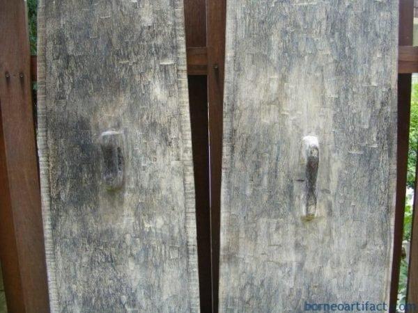 ONEPAIR~METER~MASSIVENIASSHIELDHardwoodKayuJatiARMORPROTECTIONCRAFT