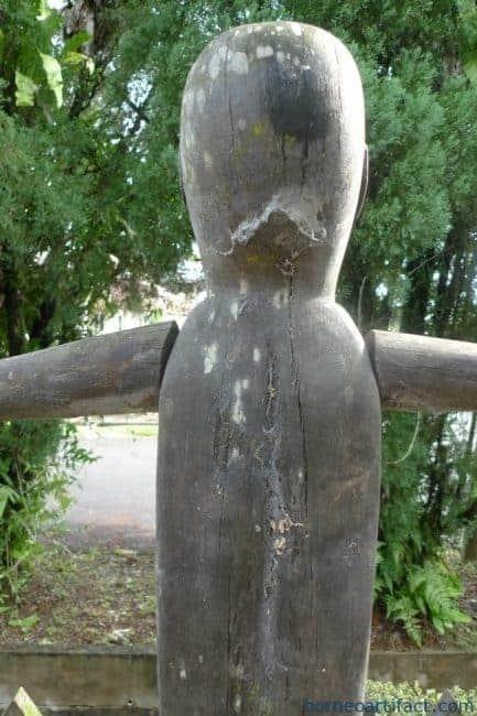 LARGEPATUNGPOLISImmSTATUEDayakTribalFigureSculptureAuthenticBorneo