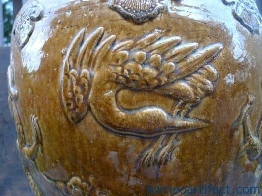 AuthenticQing/ChingDynasty( )CRANE&#;DRAGONAntiqueJARVASEPOT