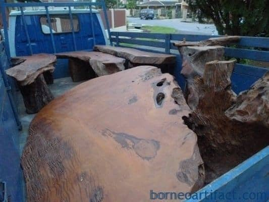 GARDENFURNITURECHAIR&TABLESetBillionIronwoodSwimmingPoolRESTHOUSE