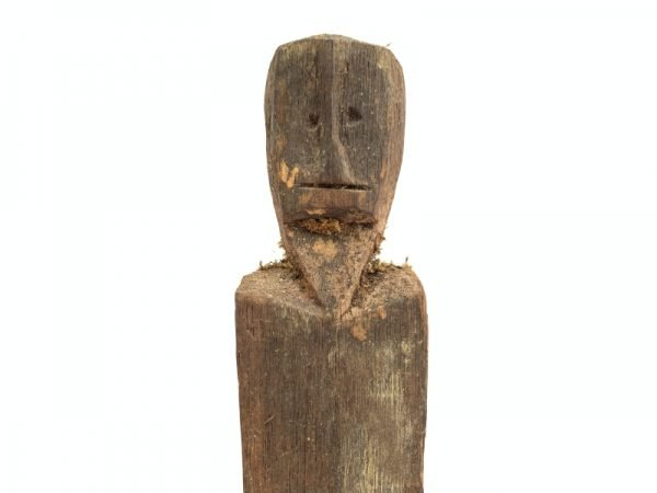 ANCESTRAL IBAN POLE Guardian Images Statue Dayak Sculpture Icon Figure Borneo #6