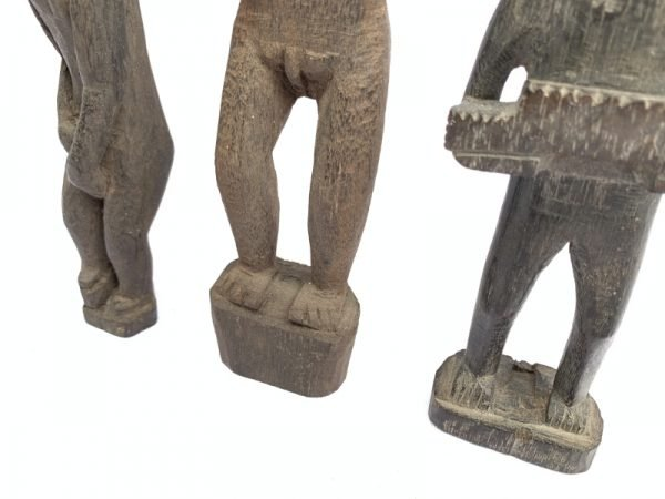 Ancestral Figure PATONG STATUE KAYAN Dayak HeadHunter Icon Image Sculpture Asia