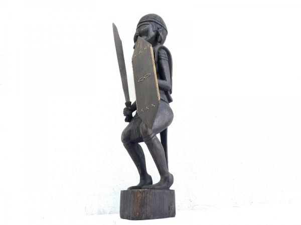DAYAK WARRIOR Sculpture