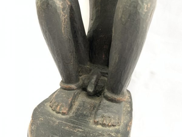 PATUNG TANIMBAR 440mm FERTILITY PENIS STATUE Sculpture Artefact Altar Figure Art