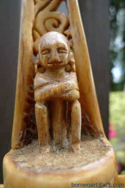 TANIMBARRAJALETImmAUTHENTICOLD~BONEALTAR~SculptureStatueIndonesia