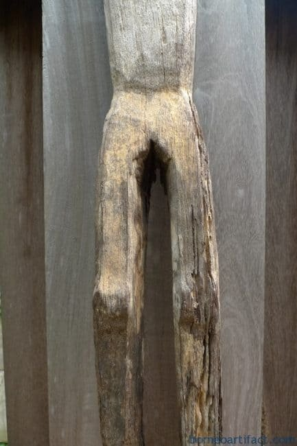 ERODEDGUARDIANmmDAYAKSTATUEPatungKebahanPrimitiveFigureSculpture