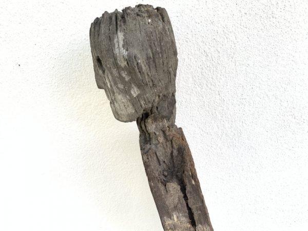 ERODED GUARDIAN 1190mm DAYAK STATUE Patung Kebahan Sculpture Primitive Figure