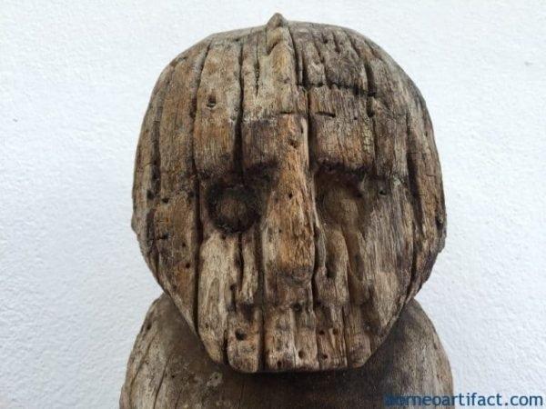 ERODEDSENTANImmPENISFertilityKorwarStatueOceanicSculptureArtefact
