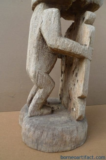 OLDASIANSTATUE.XLKORWARFIGUREIndonesiaOceanicArtSculptureArtifact
