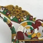 MASSIVE.meterSACREDHORNBILLBIRDKenyalangSculptureFigureStatueAnimal
