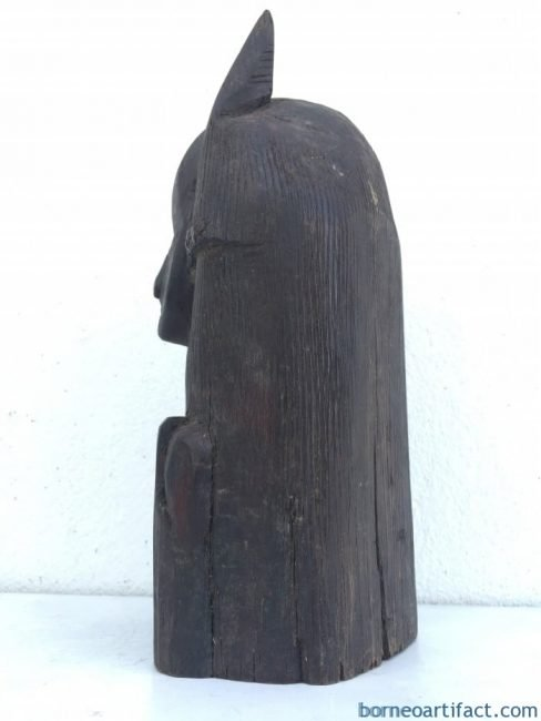 ABSTRACTBORNEOFIGUREmm/.FemaleStatueSculpturePrimitiveHARDWOOD