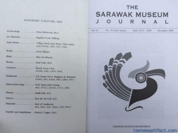 Archaeology BOOK Stegodon : The Sarawak Museum Journal Natural & Human Science