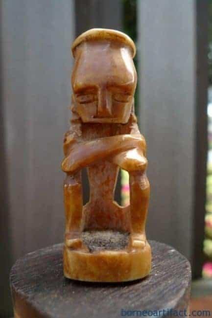 MEDICINECHAMBERmmONEPAIRBONECONTAINERArtifactFigureStatueSculpture