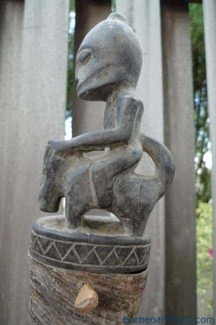 #GIANTBATAKCHAMBERmmHORNGANA GANAStatueSculptureFigureArtifactArt