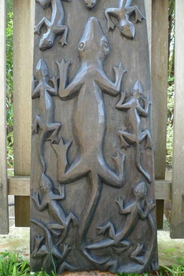 RIVERVIEWCROCODILEPANEL.&#;.WoodCarvingWallArtSculpturePainting