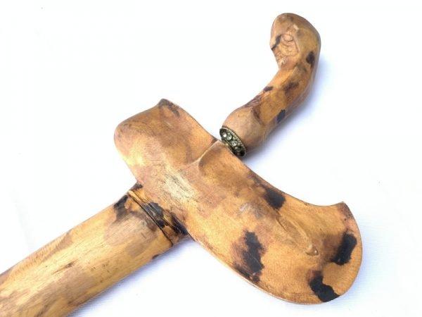 SPOTTED LEOPARD SHEATH Keris Kris Java Weapon Knife Blade Dagger Sword Arms