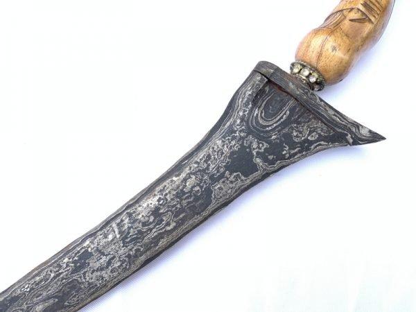 Silat Kris Gorgeous 460mm Keris Palembang Weapon Knife Dagger Sword Arms
