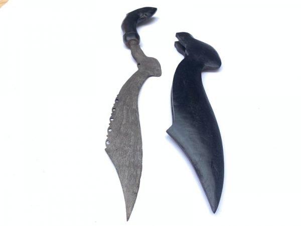 1.) OLD BLADE 530mm KUJANG JAVA Knife Weapon Dagger Sword Parang Keris Samurai