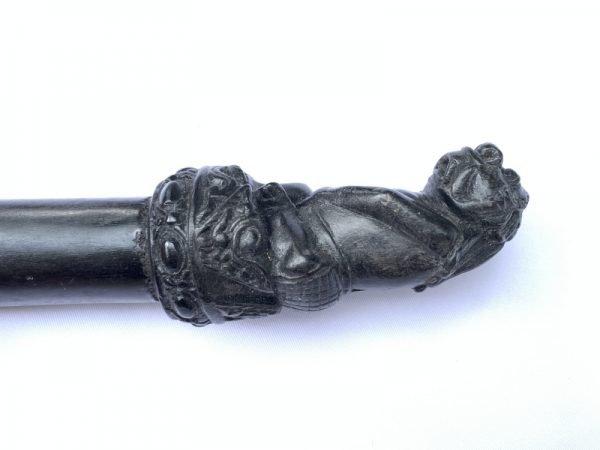 OLD SPEAR (680mm) TOMBAK KUDUP MELATI  Knife Weapon Sword Dagger Keris Kris Tribal Asia