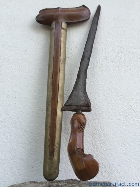 (ANTIQUE KERIS LURUS) Straight Blade Weapon Knife Dagger Sword Kriss Asia Asian