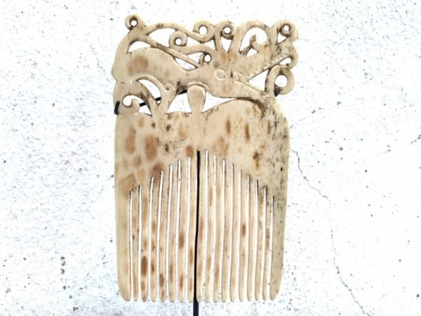 SEA DAYAK 110mm IBAN HEADDRESS Hairpin Comb Crown Dayak Tribal Artifact