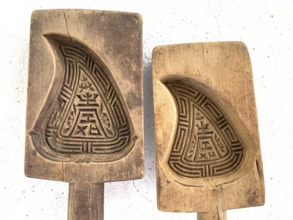 CHINESE Cake ANTIQUE Traditional Mold Biscuit Maker South Asia Food Cast Frame Stamp Chop