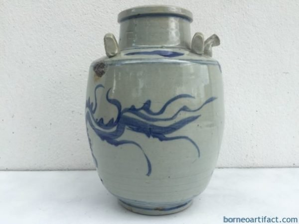 BLUENAGAJARmmQingDynasty( )AlcoholPotPitcherPourerKettle