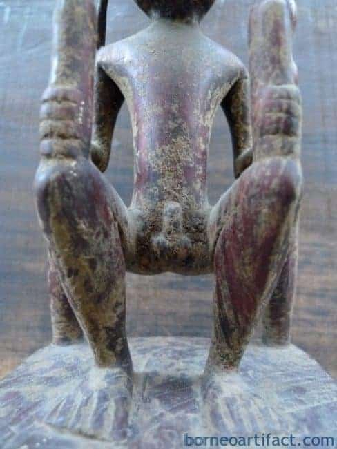 FERTILITY PANGLIMA NIAS ALTAR STATUE Artifact Sculpture Image Figure Artefact