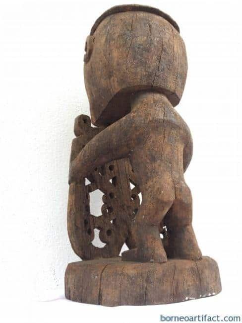 OLDASIANSTATUE.KORWARFIGUREIndonesiaOceanicArtSculptureArtifact