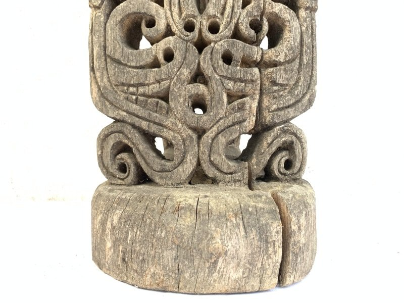 mmANCESTRALCenderawasihKORWARFIGUREOceanicArtStatueTribalSculpture