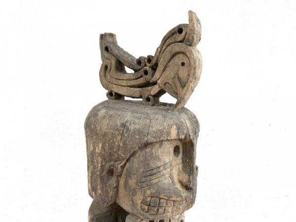 670mm ANCESTRAL Cenderawasih Oceanic Art Korwar FIGURE Oceanic Art Statue Tribal Sculpture