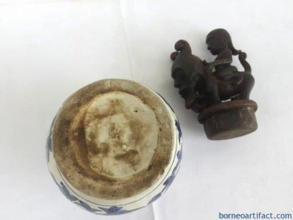 BATAKGURIGURImmMedicineBottleStatueSculptureFigureBoxJewelryContainerJarPotVaseTropicalArtifact