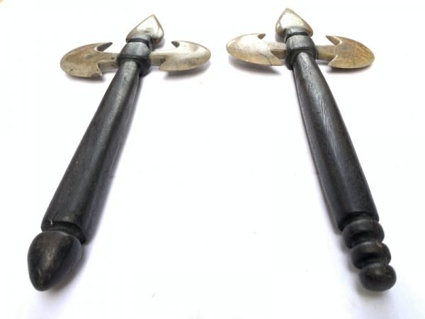 KAPAK JAWA OLD PRIMITIVE AXE WEAPON Hindu Indonesia Stone Blade Knife