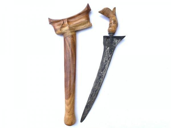 WEAPON (STRAIGHT BLADE KERIS) KRIS PALEMBANG Knife Dagger Sword Kriss Asia Asian