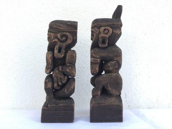 borneo tribe dayak bahau human statue people figure sculpture icon paperweight