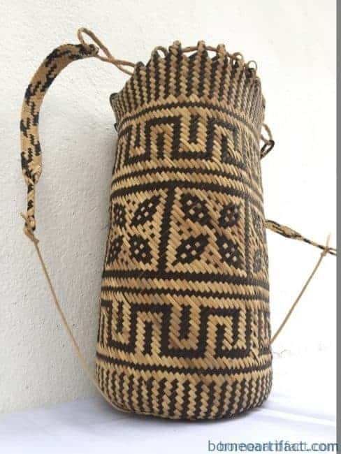 rattanajatmm(rosetteflowerpattern)handmadebagbackpackhandbagtribalcarrier#