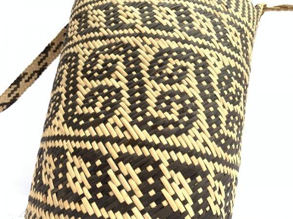 traditional bag AJAT 320mm (Creeper Vine Pattern) Handmade Backpack Handbag Tribal Carrier #5