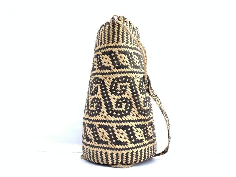 rattanajatmm(creepervinepattern)handmadebagbackpackhandbagtribalcarrier#