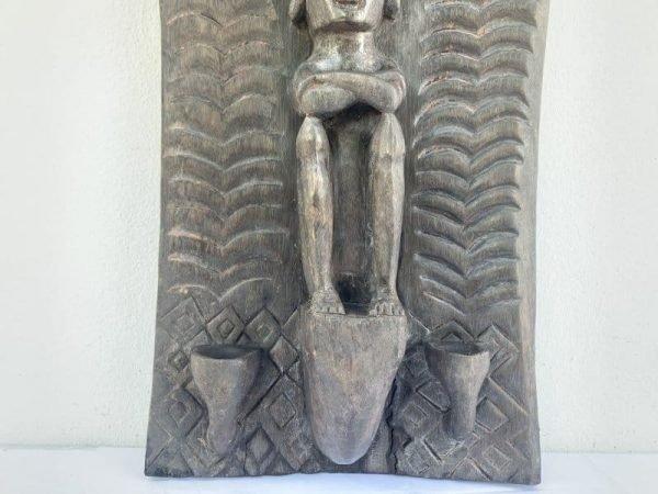 INDONESIANLETImmALTARPANELAncestralFigureStatueSculptureAsianArtCultureWallDeco