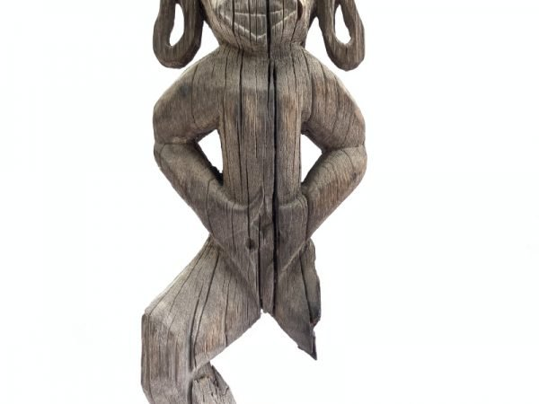 Funeral Guardian (870mm On Stand) Spiritual Figure Ancestral Figure Figurine Eroded Asian Statue