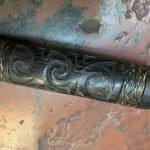 Apadravya ampallang palang traditional cultural penis piercing tool