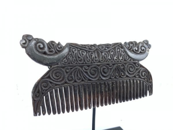 NATIVE HEADDRESS 110mm Tribal Comb Buffalo Horn Body Ornament Jewelry