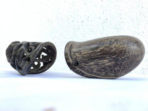 Barbell Piercing One Pair Penis Adornment Tribal Sex Ampallang Palang Apadravya