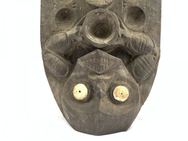 ASIAN MANCALA 775mm Tribal Aristocrat Elaborated Congka Congkak Board Game Ironwood Statue Figurine